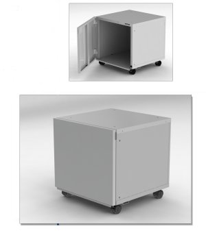 Generic All-Purpose Printer Stand for Lexmark and Dell Printers, available in 2 heights for use with multiple trays combinations