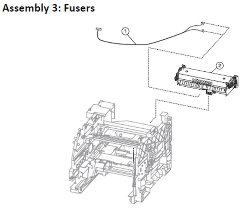 40X7602 Lexmark MS810 Series Upper Redrive