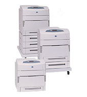 HP Color LJ 5500, 5550 Laser Printers